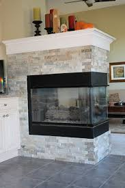 Fireplace Refacing Cost Fireplace Ergonomic Refacing A Brick Fireplace With Stone