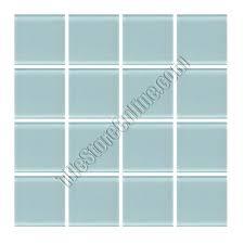 daltile glass mosaic glass reflections whisper green 1 x 1 tile glass tile glossy daltile glass