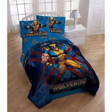 Marvel X-Men Wolverine Bedding Sheet Set, Twin