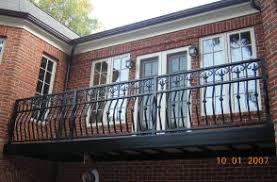 decorative aluminum railing. aluminum self supporting balcny rails with decorative bracket image railing o