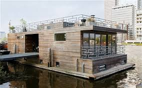 Small Picture Interiors a houseboat like no other Modern Boating and