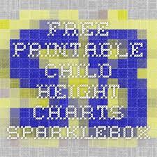 Sparklebox Height Chart Free Printable Child Height Charts Sparklebox Image_url