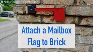 brick mailbox flag. Brick Mailbox Flag