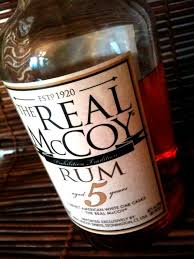 real mccoy 5 year old rum a premium rum with interesting history