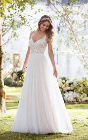 boho wedding dresses soft and romantic boho wedding dress