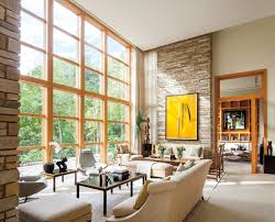 Andersen E-Series Picture Windows with pine interiors. New Residential  Construction Home Style Modern