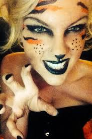 easy animal print face paint