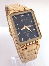 17 best images about classic looking watches solar new citizen quartz day date black steel square gold dial analog men s watch citizenquartz