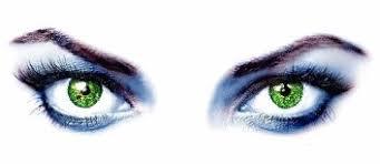 Resultado de imagem para olhos verdes