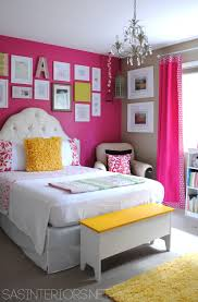 Paint Colours For Girls Bedroom Girls Room Benjamin Moore Royal Fuchsia And Lenox Tan Home