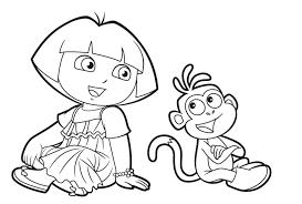 Coloriages Dora Imprimer Backupyourbrain