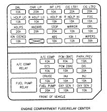 2002 cadillac deville fuse box diagram image details 2002 cadillac deville fuse diagram
