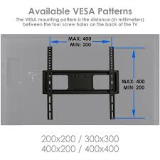 Vesa Mounting Pattern Best Wildon Home FullMotion TV Swivel Wall Mount For 4848 LCD