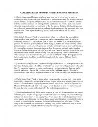 personal narrative essay examples high school topics for   high school 27 essay topics for narrative 5 paragraph narrative essay example topics essay large