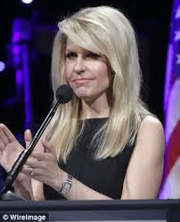 Monica Crowley  above   an aide to Donald Trump who has been picked for