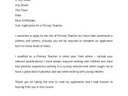 Primary Teacher Cover Letter Tutor Cover Letter Example Good Cover Letter Introduction Unique