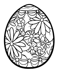 Small Picture Easter Egg Coloring Pages Bricolages de Pques Pinterest
