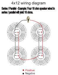 4 ohm guitar speaker wiring diagram and tryit me 8 Ohm Home Speakers at Wiring Diagrams For 4 16 Ohm Speakers