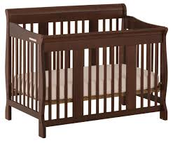 stork craft tuscany 4 in 1 fixed side convertible crib 04588 499