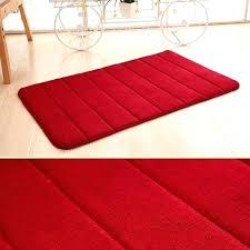 memory foam anti skid bath mat super soft bathroom rugs c velvet non slip absorbent chiffon