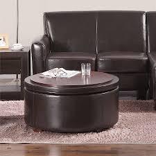 full size of sourceimage round storage ottoman dorel living threshold nolan bonded leather espresso colorful ottomans