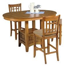 liberty furniture santa rosa mission oak counter height dining table hayneedle