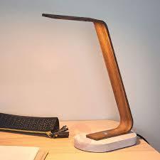Wooden Desk Lamp Led Lamp Design Ideas