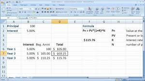 Interest Calculation Spreadsheet Daily Compound Interest Calculator Savings Account And Compound