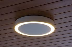 image of outdoor ceiling lights over deck