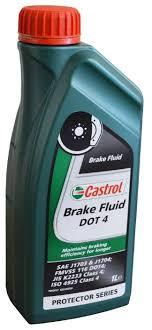 <b>Тормозная жидкость Castrol Brake</b> Fluid DOT 4 1 л — купить по ...