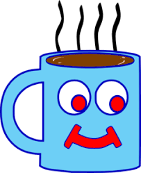 hot chocolate mug clipart. blue hot chocolate cup clip art mug clipart e