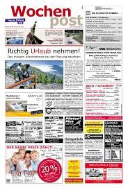 Die Wochenpost Kw 21 By Sdz Medien Issuu