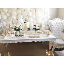 Incredible Decoration All White Baby Shower Valuable Design Ideas Tea Time  Pinterest Hello June