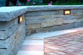 low voltage wall lights stone wall lighting landscape lighting beautiful landscape lighting