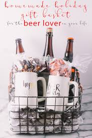 homemade holiday gift basket for the beer lover in your life a plays well with