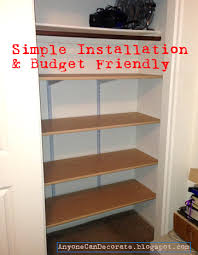 office closet shelving. Office Closet Shelving With Anyone Can Decorate: Simple Shelves Huge Help  Getting Organized Office Closet Shelving U