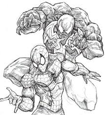 Small Picture Coloring Pages Coloring Pages Of Spiderman Spiderman Christmas