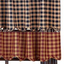 Primitive Curtains For Kitchen Primitive Curtains And Country Valances For Country Home Decorating