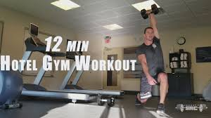 minute hotel gym workout crossfit src