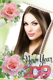 happy new year photo frame 2019