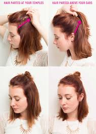 How Todo Hair Style 16 genius half bun hacks you need to know about half bun temple 2110 by wearticles.com