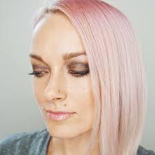 nice eye makeup look using naught and nice eyeshadow palette luminess air