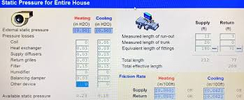 Acca Friction Rate Reference Chart Cfm Archives Hvac School
