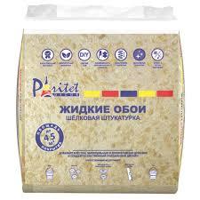 Жидкие обои <b>Базовое покрытие</b> 5 0.9 кг цвет бежевый в Москве ...