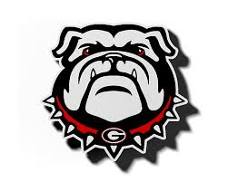 Georgia Bulldog Logo Magnet – ZVerse - 3D Printed Licensed Products ...