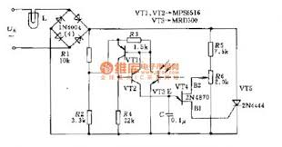 power supply circuit circuit diagram com the thyristor ac voltage regulation circuit diagram
