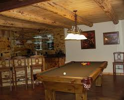 Wooden Games Room Inspirations Rustic Basement Bars With Bar And Game Room Guest 49