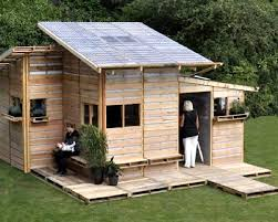 detached home office. Pallet House By I-Beam Design Might Be A Good Construction Idea For Detached Home Office, Art Studio, Or Even Shed Chicken Coop. Office D