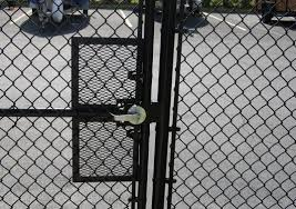 chain link fence gate latch hardware
