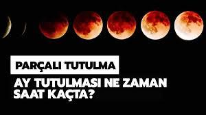 30 Kasım 2020 ay tutulması saat kaçta? Parçalı ay tutulması ne zaman?